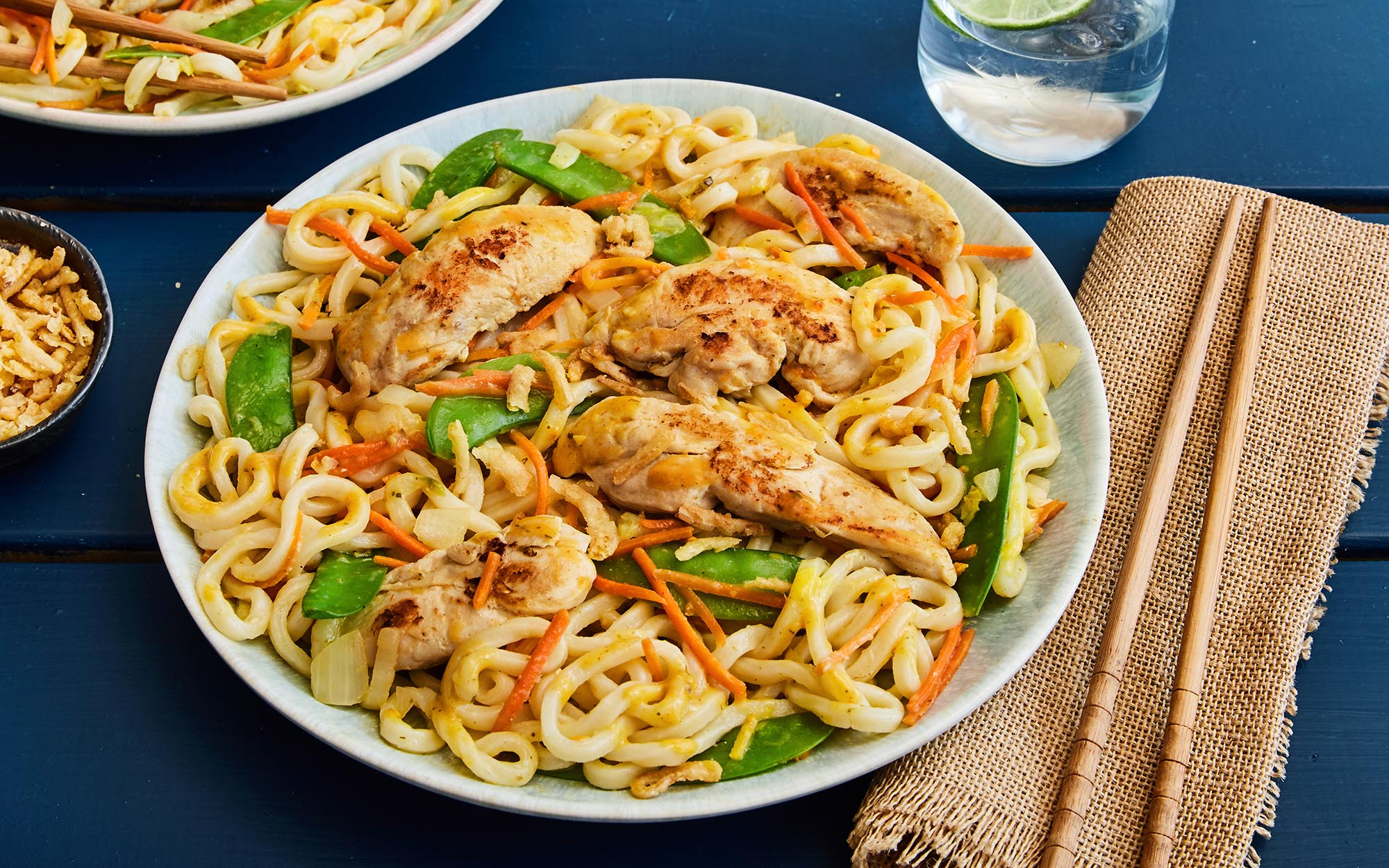 Panang Chicken & Udon Noodle Stir-fry