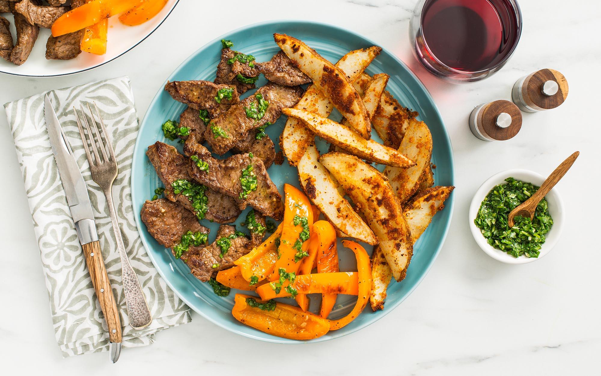 Steak & Lime Chimichurri Sauce