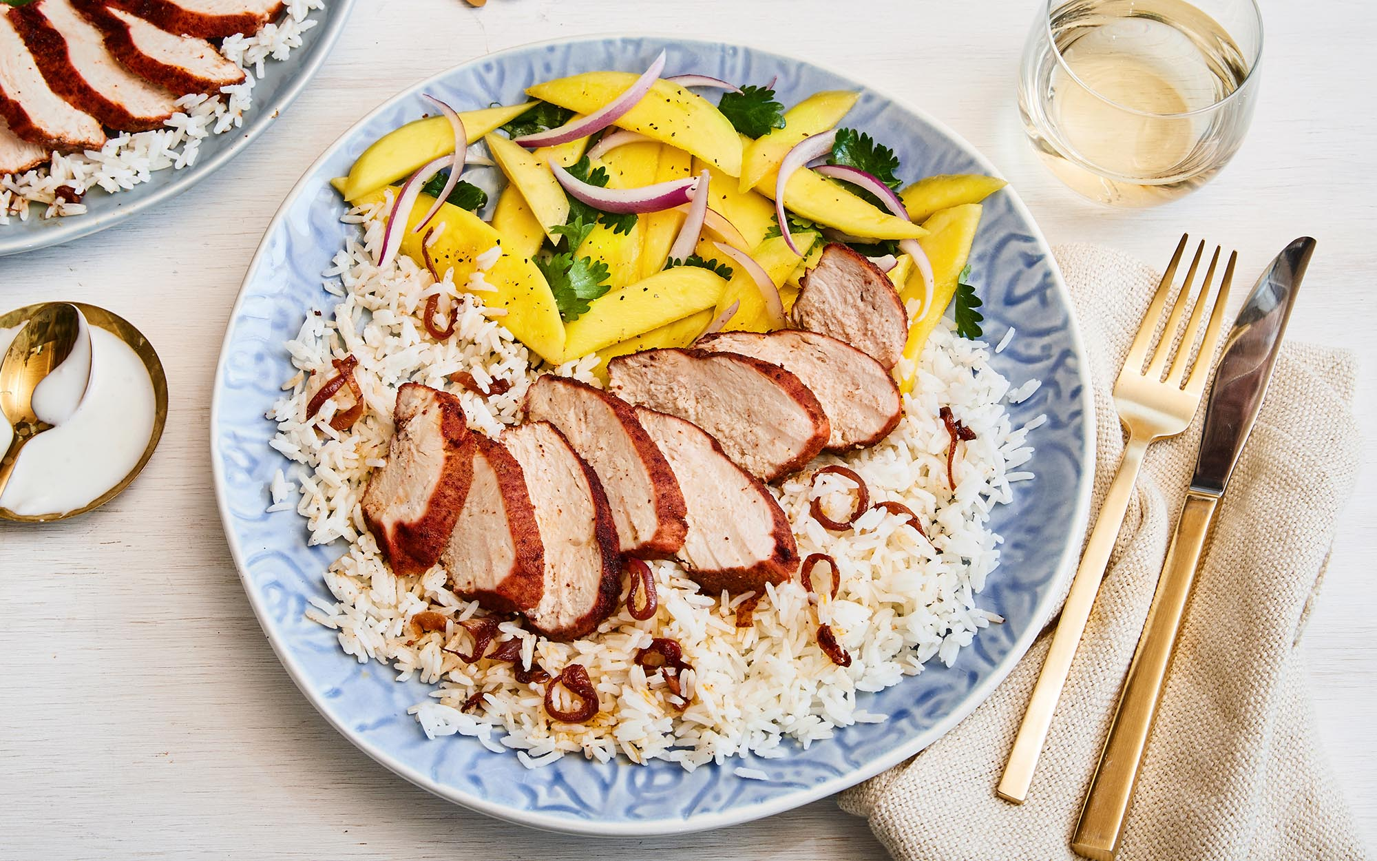 Tandoori Chicken & Mango Salad